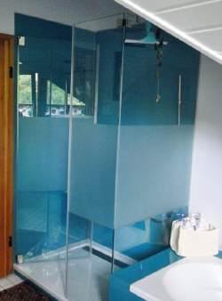 Duschwaende sanieren Badsanierung