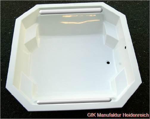 Dusche Sanieren Ohne Fugen : Achteckwanne AW 200/ 200 cm x 190cm x 50 ...